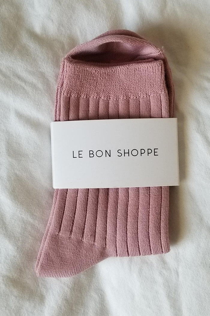 Le Bon Shoppe Her socks desert rose nude pink | pipe and row boutique Seattle