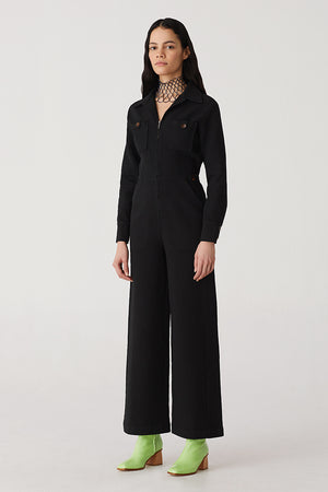 Paloma Wool Dolores jumpsuit long sleeved cotton  | pipe and row boutique