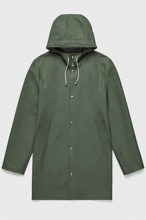 STUTTERHEIM Stockholm Rain coat  jacket versatility and durability | PIPE AND ROW