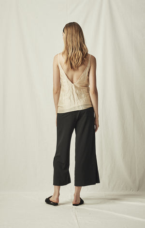 cropped trousers black mijeong park | pipe and row