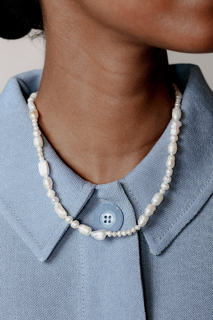 Wolf Circus Estelle fresh water pearl necklace gift jewelry | Pipe and row boutique