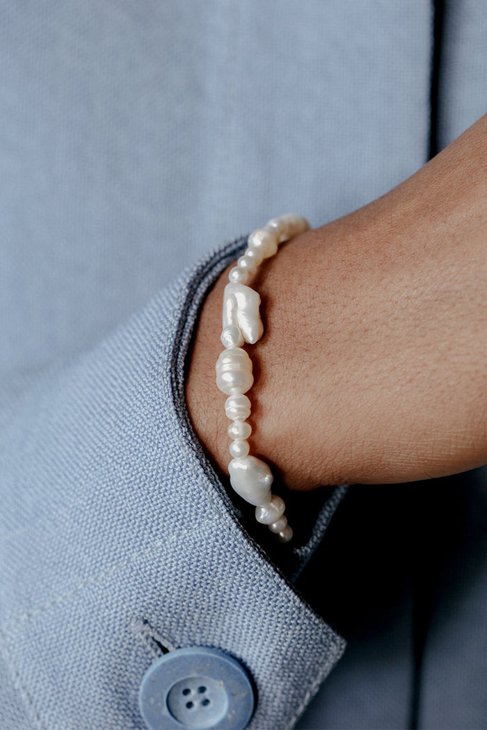 Wolf Circus Estelle fresh water pearl bracelet | Pipe and Row seattle boutique