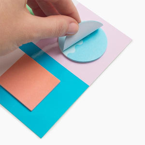 geo shape sticky notes harbor poketo | pipe and row