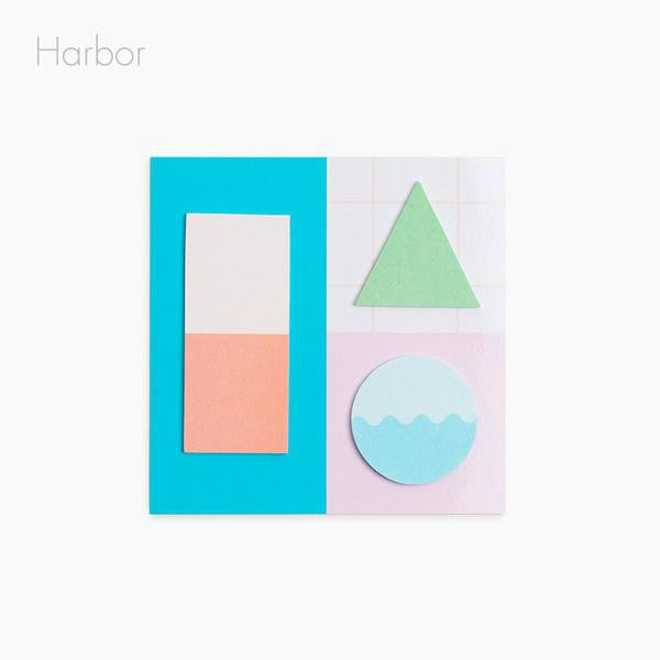ws geo sticky notes harbor poketo | pipe and row