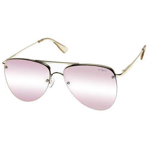 THE PRINCE SUNGLASSES GOLD/BLUSH