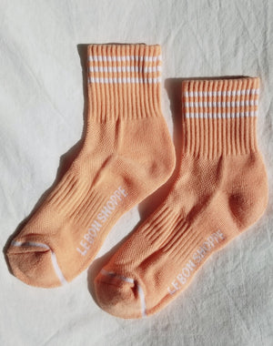 GIRLFRIEND SOCKS GRAPEFRUIT