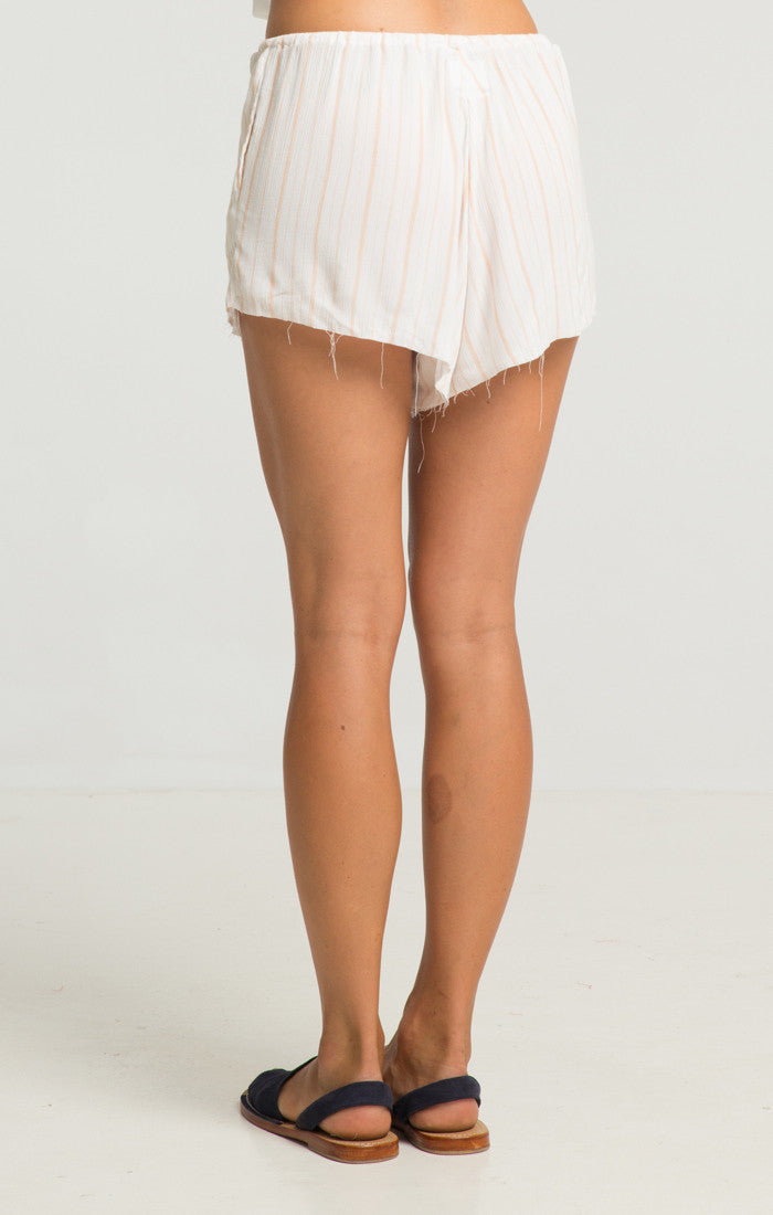RUE STIIC HARTA SAND STRIPE SHORTS | PIPE AND ROW
