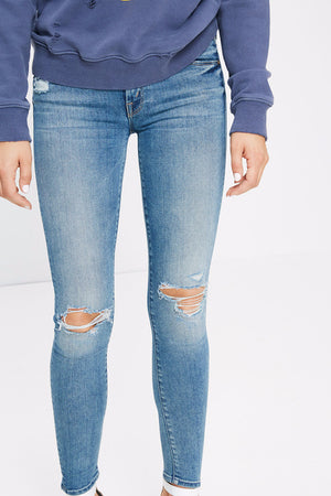 MOTHER THE LOOKER HEARTBREAKER DENIM | PIPE AND ROW