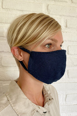 FACE MASK INK LINEN