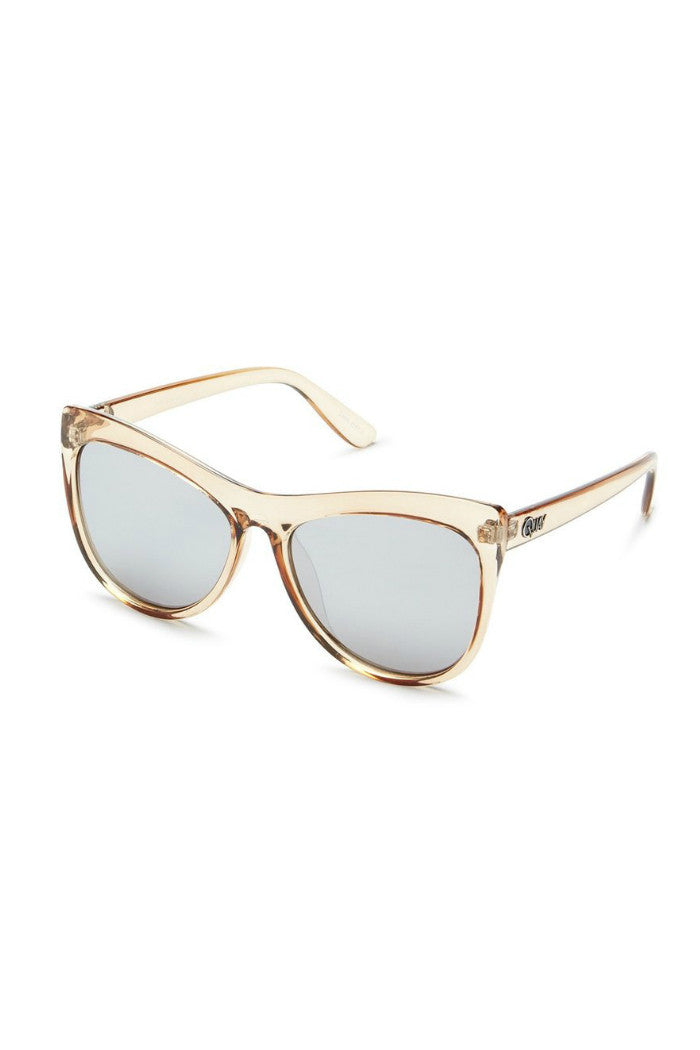 QUAY JOY RIDE SUNGLASSES PEACH | PIPE AND ROW BOUTIQUE FREMONT SEATTLE