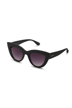 kitti black purple smoke sunglasses quay australia front | pipe and row