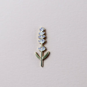 lavender plant pin hemleva | pipe and row