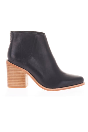 leo boots black wood just female | pipe and row