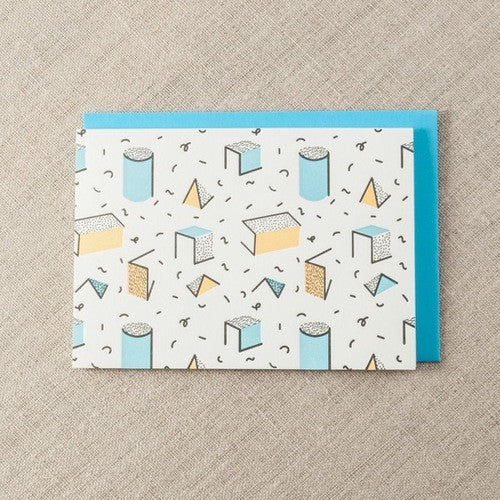 SHAPES AND SWIGGLES CARD