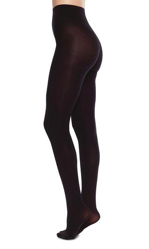 6ddd4250b Lia premium tights recycled yarn black swedish stockings