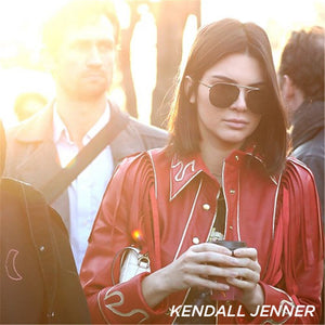 liberation le specs kendall jenner gold tort aviator sunglasses | pipe and row seattle