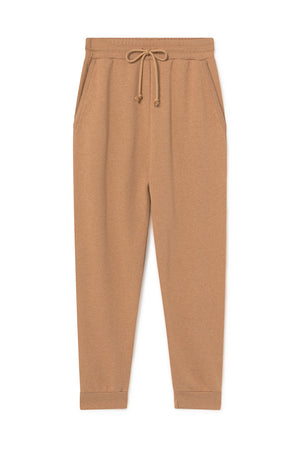 Paloma Wool Magali cotton jogger knit sweatpants ochre | pipe and row