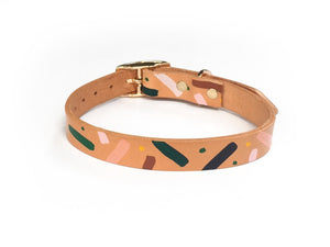 master confetti collar leather back nice digs | pipe and row