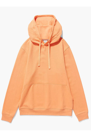 Richer Poorer unisex pullover fleece hoodie cantaloupe | pipe and row boutique shop small