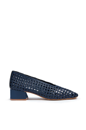 miista plain navy taissa pumps | pipe and row boutique