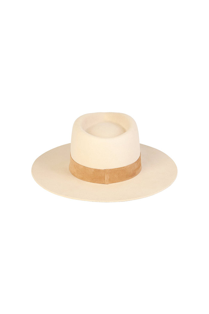 Lack of Color Mirage ivory rancher style hat | Pipe and row boutique Seattle
