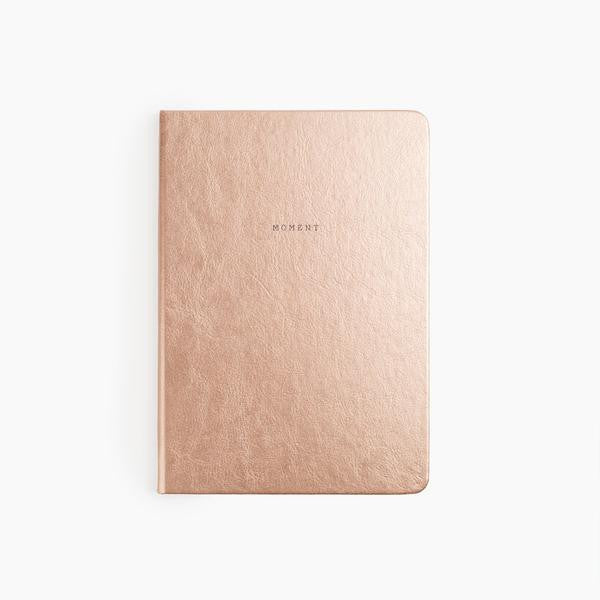 moment planner large rose gold poketo | pipe and row