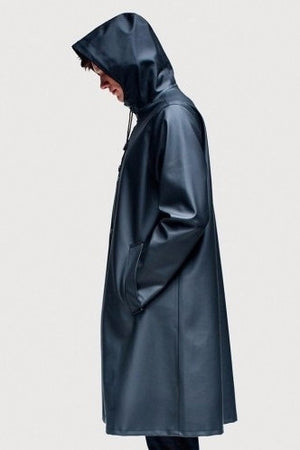 STUTTERHEIM MOSEBACKE RAIN JACKET BLACK | PIPE AND ROW