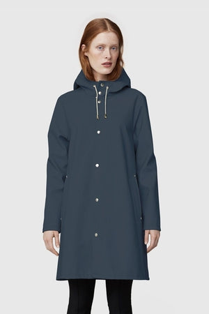 STUTTERHEIM MOSEBACKE RAIN JACKET CHARCOAL | PIPE AND ROW