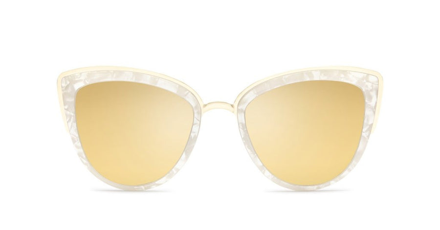 my girl pearl gold sunglasses side quay australia | pipe and row