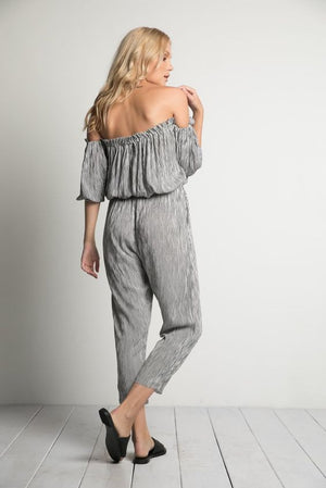 NASHVILLE STRIPED JUMPSUIT