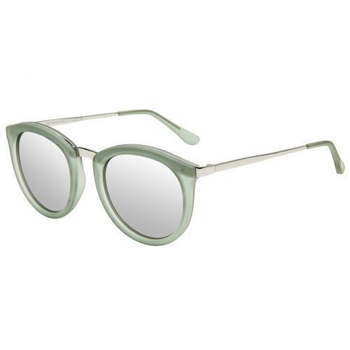 ws no smirking le specs olive rubber silver metal | pipe and row seattle