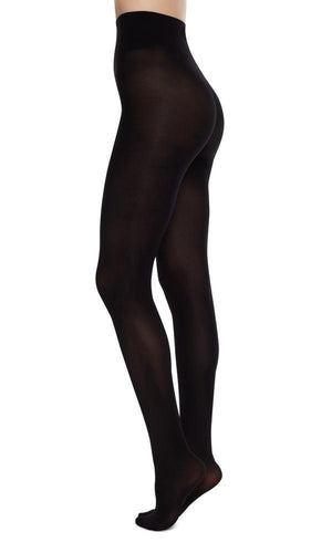 olivia premium tights black swedish stockings | pipe and row