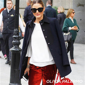olivia palermo air heart le specs black sunglasses | pipe and row