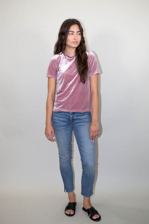 PEACE TOP MAUVE