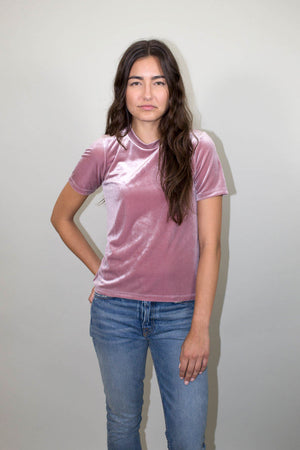 Drifter Peace Top Mauve | Pipe and Row Boutique Seattle