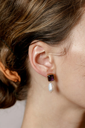 PENELOPE EARRINGS ALEXANDRITE