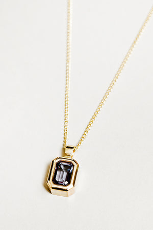 Wolf Circus Penelope necklace Alexandrite | pipe and row boutique seattle