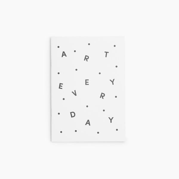 phrase notebook art everyday poekto | pipe and row