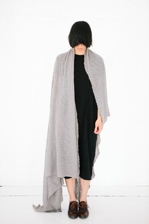 WOOL CLOUD BLANKET SCARF DUNE