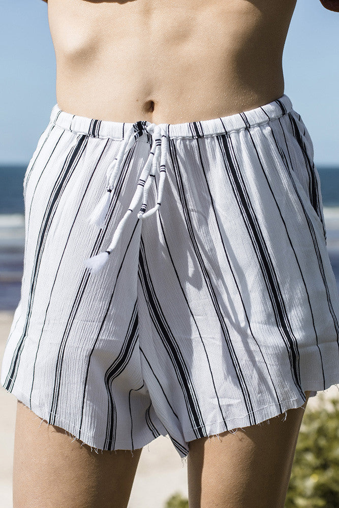 RUE STIIC RAMBLA STRIPED SHORTS | PIPE AND ROW
