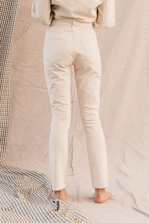 Agolde Remy high rise straight leg jean | pipe and row boutique Seattle