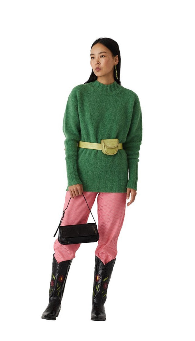 Paloma Wool Rodriguez sweater forest kelly green | pipe and row