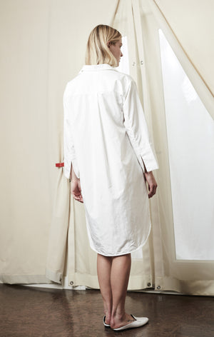 shirt button up dress white achro | pipe and row