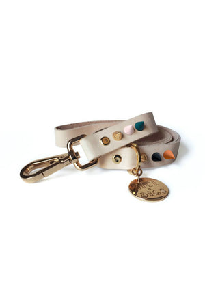 spike leather leash jaded rose nice dogs | pipe and row