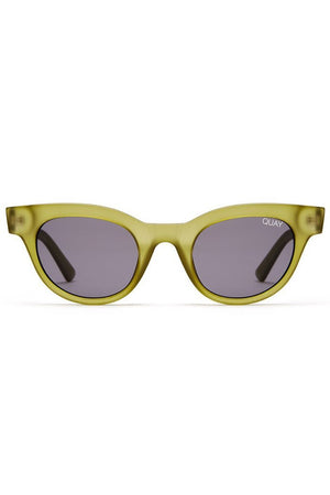 star struck sunglasses olive frames smoke lens quay australia | pipe and row