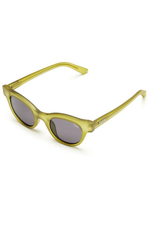 cat eye star struck hollywood sunglasses olive smoke quay australia | pipe and row