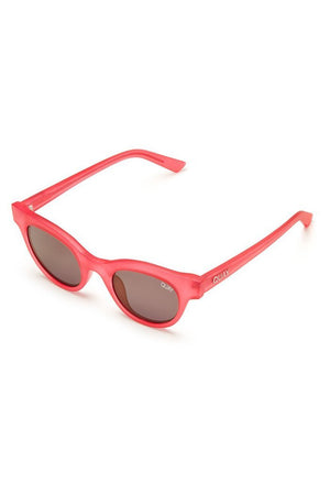 pink frame chic sunglasses star struck quay australia | pipe and row
