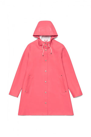 Stutterheim Mosebacke faded rose raincoat pink | pipe and row seattle