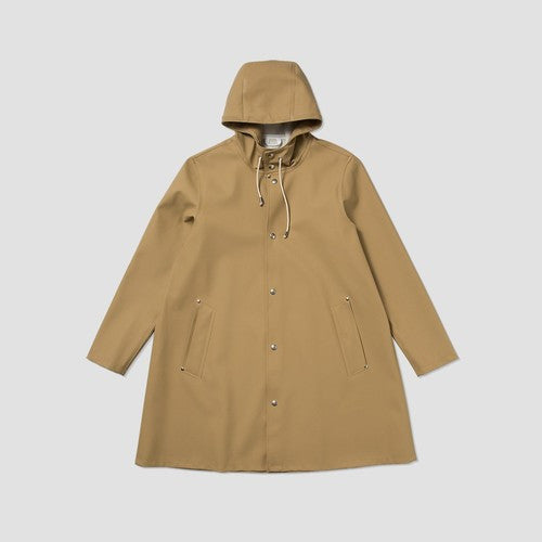 STUTTERHEIM MOSEBACKE RAIN JACKET SAND | PIPE AND ROW