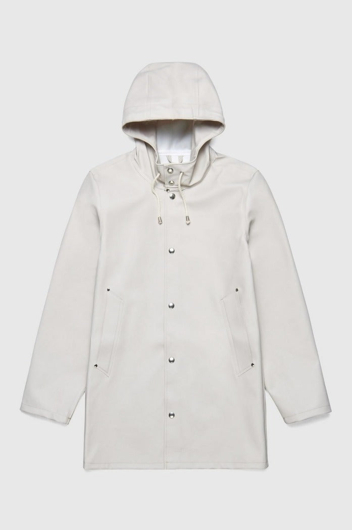 STUTTERHEIM STOCKHOLM JACKET light sand rain jacket | PIPE AND ROW